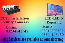 Led tv and lcd tv