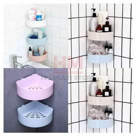 Wall Mounted Triangle Shelf for Bathroom/Kitchen