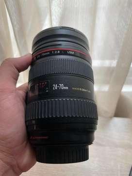 Lensa Canon EF 24-70mm 2.8 L USM