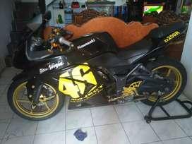 Ninja 250 cc,  barang terawat,  pajak jalan,