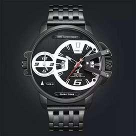 Jam tangan weide UV1702B dual time original