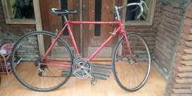 Sepeda balap jadul/vintage road bike merk NAPOLI Jepang