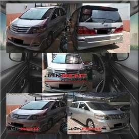 Rental Mobil Alphard Lepas Kunci Murah