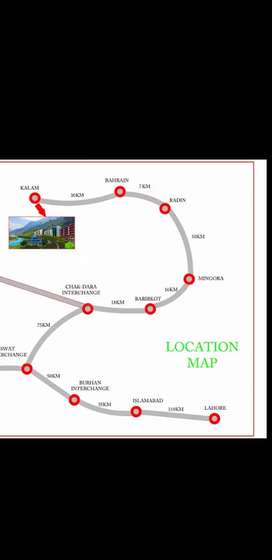 Luxury Appartments in Kalam Valley.