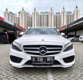 Mercy C200 AMG 2017 KM 29rb ANTIK