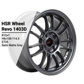 Jual velg racing ring 15 Tipe REVO pcd 8x100-114,3 Brio