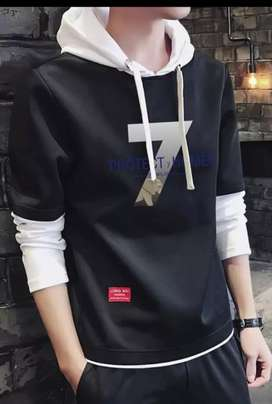 Latest Hoodie T-SHIRT cheap Rate 6 colour Available