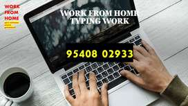 WORK FROM HOME HANDWRITING AND TYPING JOBS
