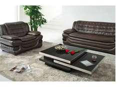 Coffee Table | Imported Center Table | With Glass and high gloss