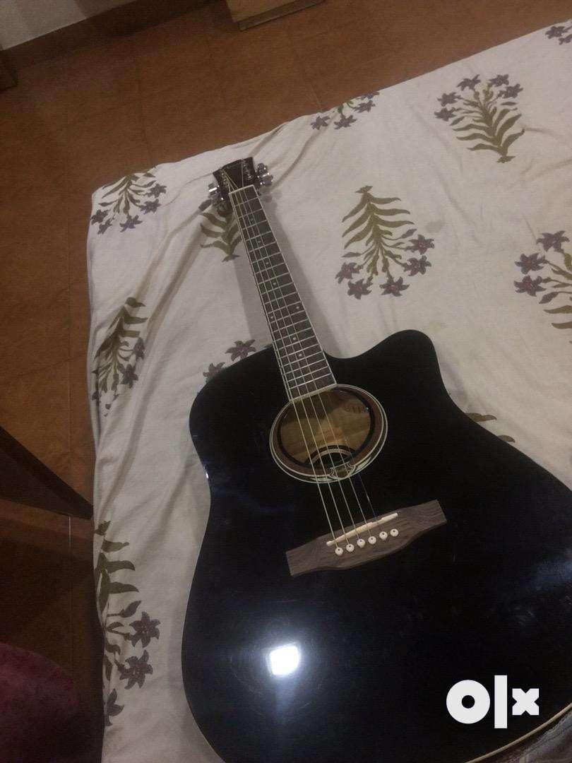 Adaltis Black Colour Guitar 0