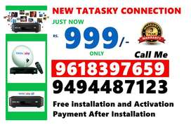 Tata Sky New DTH box Just Rs.999/- Only COD Here Tatasky  Tata sky set