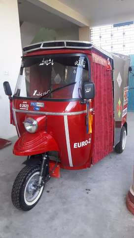My new rikshaw red color  for sale