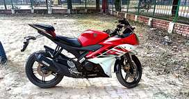 New condition yamaha R15 for sale..