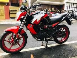 Yamaha fz customized