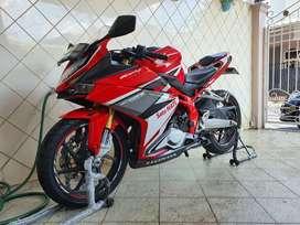 Honda CBR 250RR ABS red racing Tipe tertinggi 2016 super low km