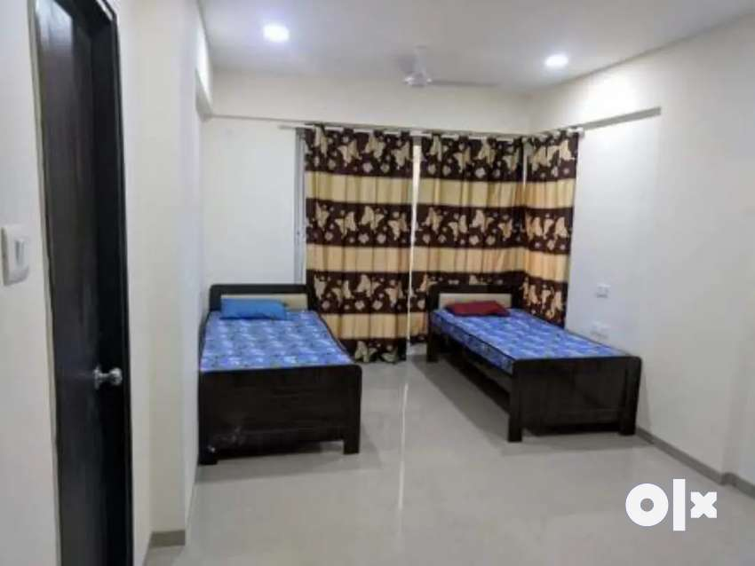 No brokrage male pg  furnish with ac 2 sharing 8500 station goregaon w