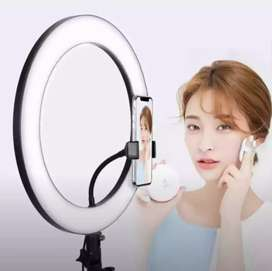 36cm 288 LED Ring Light Dimmable 5600K For SmartPhone Live Photography