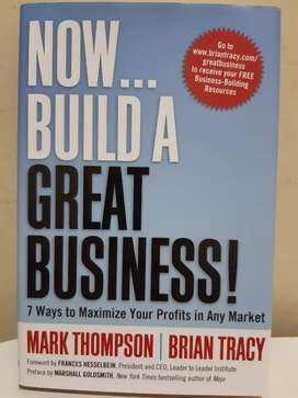 NOW... Build a Great Business! (Hardcover)