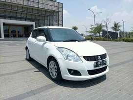 Cicilan 2.9jtan atau DP 14Jt Suzuki New Swift GX Manual 2014 Putih