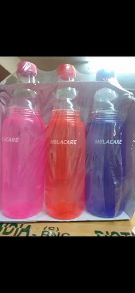 Water bottle pack of 3