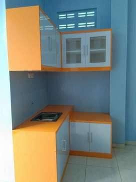 kitchenset kitchen set murah buffet partisi backdrop almari lemari EF