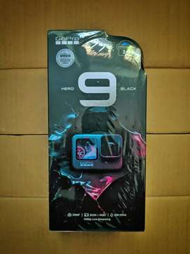gopro hero 9  SEALED BOX PIECE(WITH 2YEARS REPLACMENT WARRANTY)