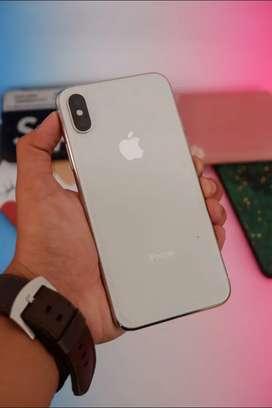 Iphone X 64gb Silver TAM