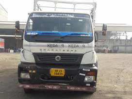 Bharat Benz 1617 model good condition 20 feet company body two truck