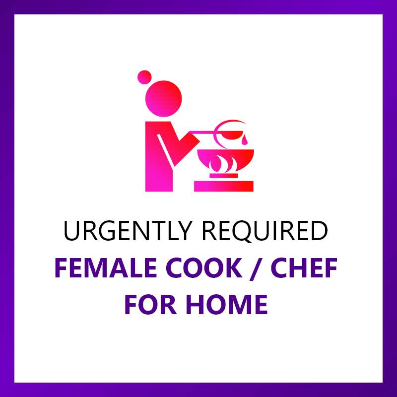 Cook Required for home - Middle age female 0