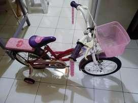 Wim Cycle Disney Princess (Sepeda Anak Cewek)