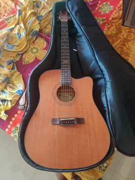 Brand new Grail acoustic guitar along with semi-hard cover for sale