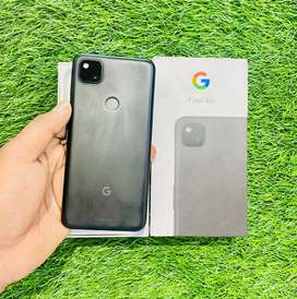 Google pixel 4a - 128 GB - just black - 2.5 month old only