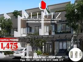 Hunian Elite 3 Lt Plus Rooftop di ALLUIZ Manyaran