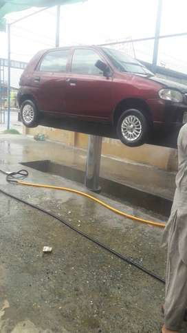 Maroon colorAC start Good condition CNG and petrol