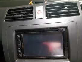 Pioneer double din dvd player for car