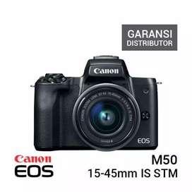 Promo Canon M50 Kit 15-45mm Cicil Tanpa Kartu Credit Di Plaza Kamera