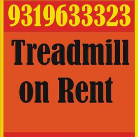 Treadmill on rent for domestic use call number on pic