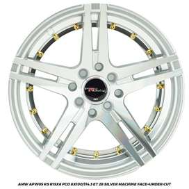 JUAL VELG  APW05 RS R15X8.0 H.8X100-114,3 ET 28 BRIO IGNIS AGYA SIGRA