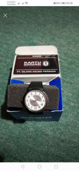 jam tangan casual ori merk casio
