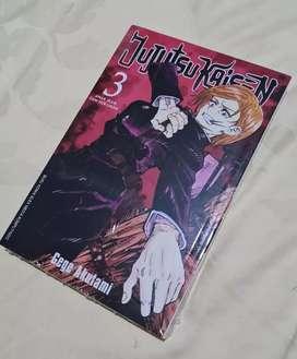 Komik Jujutsu Kaisen Seri 3