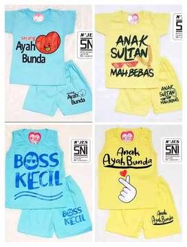 Baju nama anak masih baru