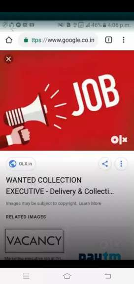 Wanted collection executive for home loans