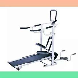 treadmill manual 5 fungsi EX-045 treadmil alat fitnes