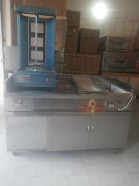 Shahwarma Counter ( pizza Oven )