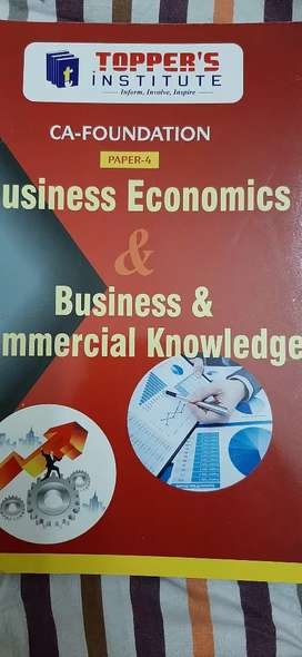 Business Economics and Business and Commercial Knowledge CA FOUNDATION