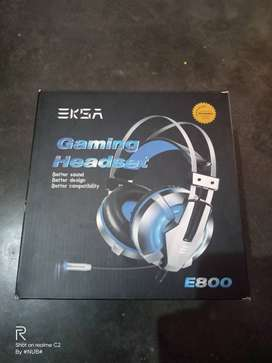 Eksa e800 gaming headset with mic