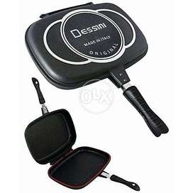 Non Stick Double Sided Grill Pan