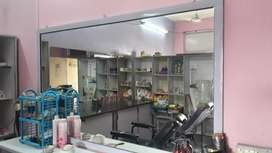 all kinds of beauty parlour accessories and bridal set's available