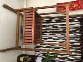 Wooden cradle - fully teak wood