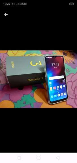 Realme 3    3GB ram 32GB ROM 4 mas exchange battery image 4230